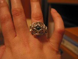 Captive Bead Ring by Moatis