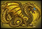 Gold Dragon by TallyBaby13