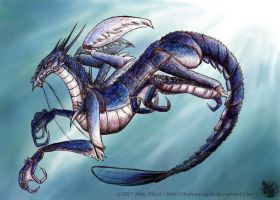 Lobster dragon by Midsea
