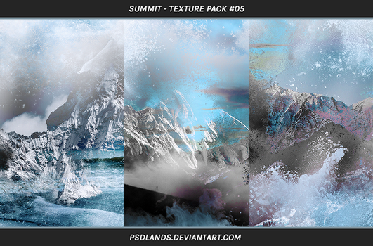 TEXTURE PACK #05 - summit by psdlands