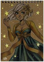 catch a falling star - notebook by pencil-butter