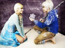Jack Frost x Elsa: Do You Wanna Build a Snowman? by DuysPhotoShoots