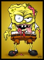 The Sponge Dead by mrtozkan