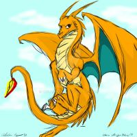 LIvestream: Charizard Dragon by Wolfangkun