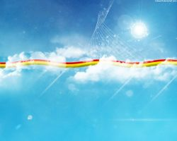 Rasta Wallpaper 3 - Heaven by hakeryk2