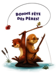 Day 573. Bonne fete des Peres! by Cryptid-Creations
