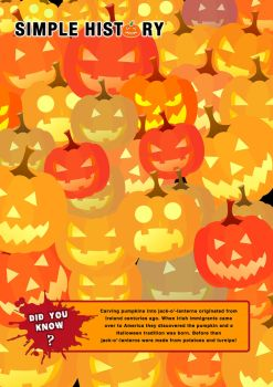 Simple History Halloween. Did you Know? Pumpkins by DinosaurCat