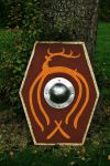 Iron Age Germanic shield by Dewfooter