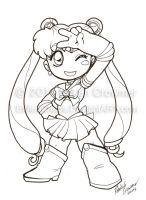 Indiana Comic Con Commissions -Sailor Moon 3 by ExiledChaos