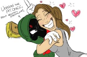 I love Marvin the Martian! by Skiepki
