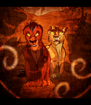 ''I Used to Know Someone Else With the Roar...'' by Wolf-Chalk