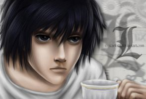 Death Note: L by scarlotti