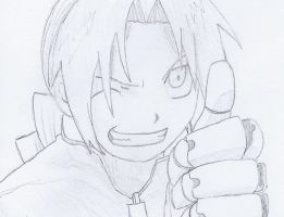 Edward Elric by NINJAWERETIGER