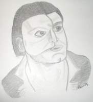 Gerard Butler as The Phantom by AmiotBrat