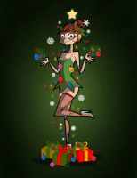 Happy Holidays 2012 by kungfumonkey
