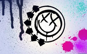Blink 182 Smiley Wallpaper by Dinomyte
