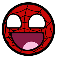 Spider-Man Awesome Smiley by E-rap