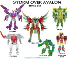 Botcon: Storm Over Avalon 1 by Blueshift2k5