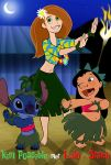 Kim Possible met Lilo and Stitch by mr35mm