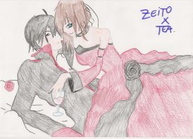 Zeito X Thea - welcome to the abyss by SarahShirabuki8000