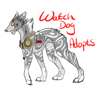 watch dog adopts by Z-A-D-Y