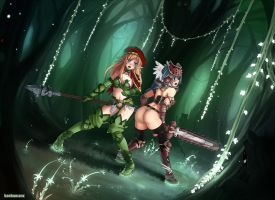 Queen's blade - survive by Barbariank
