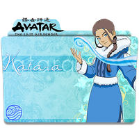 Avatar The Last Airbender v4(Katara) - Icon FoldeR by ubagutobr