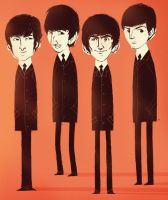 The Beatles by peerro
