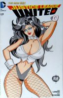 Zatanna Justice League United 0 Sketch by SSaruman