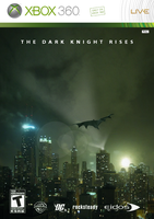 The Dark Knight Rises Xbox 360 by P2Pproductions