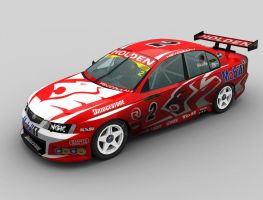 V8Supercar Holden Racing Team by kurtdhis
