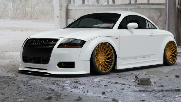 2003 Audi TT White by doom17