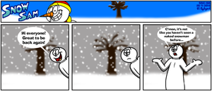 Snow Sam Comic 168 by BluebottleFlyer