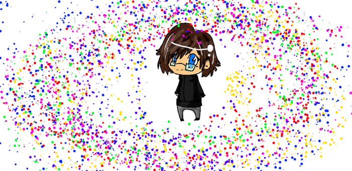 Chibi Me c: by chilce