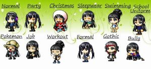 MapleStory Clothes Meme :D by BlackAprilBlossom
