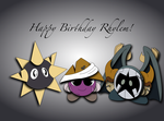 Happy Birthday Rhylem! by Sunelise123