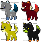 Imogean Heap Based Canines [4/4 Open] by NarrativeCanine