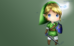 Link Wallpaper by DraskiasArt