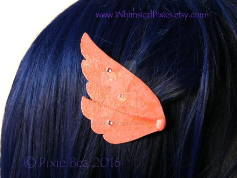 Anime Wing Hairclip by WhimsicalPixies