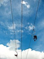 Chairlifts by evilslair