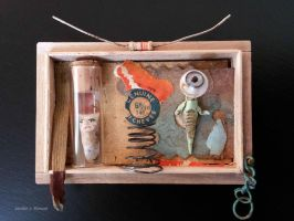 Assemblage: Small Box by bugatha1