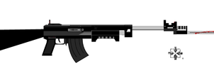 arkc-10 with plegable bayonet by 96blackarrow