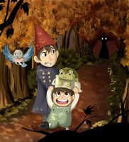 Over the Garden Wall by jadethestone