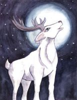 The White Stag by Starrydance