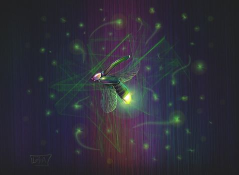 Firefly by lespaint