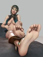Barefoot beauties - Darlyssa by Foulfiends
