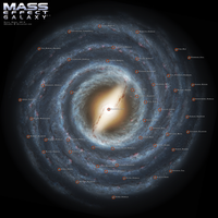 Mass Effect Galaxy Map 3.0 by DWebArt
