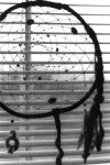 Dreamcatcher and window blinds by anomalism