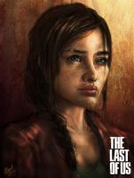The Last Of Us: Older Ellie by Ice-wolf-elemental