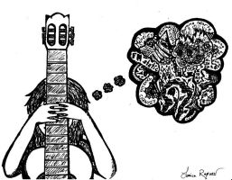 A Baffled Imagination by Musical-Ink